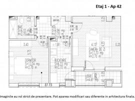 Apartament 2 camere - Titan - Metrou Nicolae Teclu, sector 3