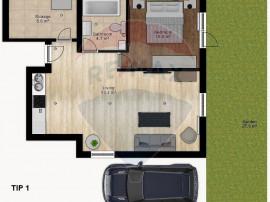 Apartament cu 2 camere de vânzare în zona Doamna Ghica