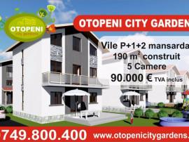 Vile 5 camere Otopeni City Gardens, p+2, dezvoltator