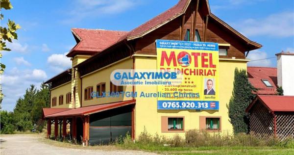 Inchiriez Motel in Gaiesti cu 50 camere, restaurant, parcare