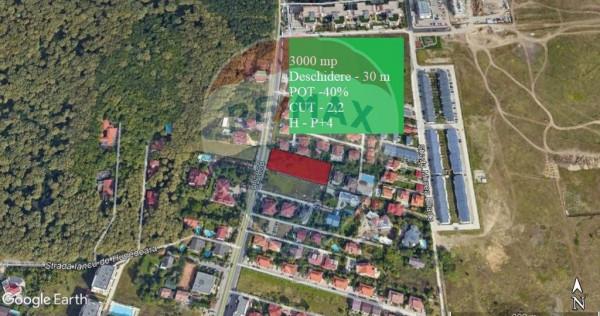 Teren intravilan liber 3012 mp Bulevardul Pipera - Scoala...