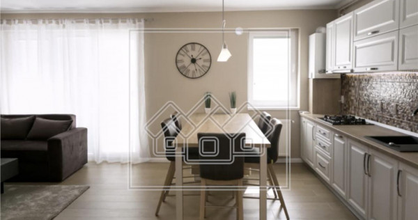 Apartament mobilat si utilat, confort lux, etaj 3/4 - Lazare