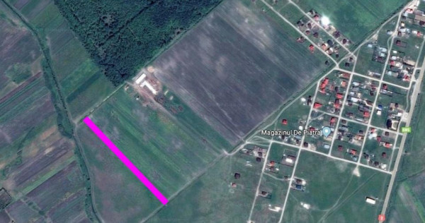 Teren lângă pădurea Spătaru 3300mp