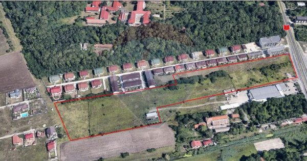 Teren 3.86 ha, Otopeni / deschidere 77m la DN 1,comision 0%