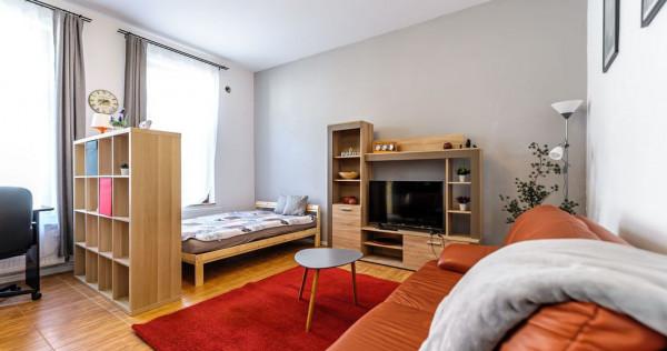 Apartament cu o cameră, strada Cozia