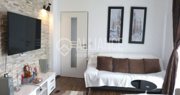 MAMAIA-SAT - Apartament cochet, cu gradina comuna, complet u