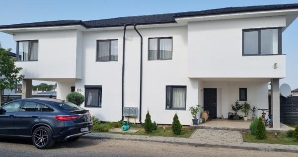 Clinceni casa în duplex cu plata în rate