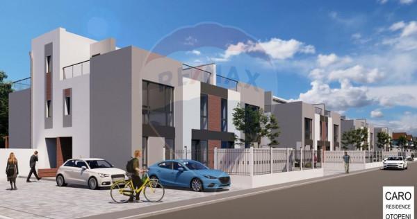 Casa / Vila 4 Camere Complex Nou in Otopeni Terasa 25 MP