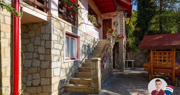 Casă / Vilă cu 8 camere de vânzare în Slănic Moldova