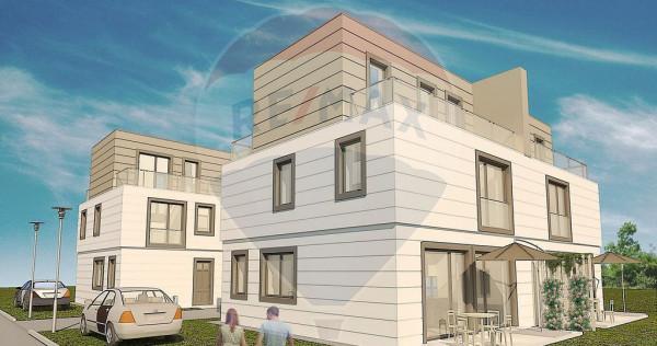 Vila tip Duplex cu 5 camere de vânzare Otopeni