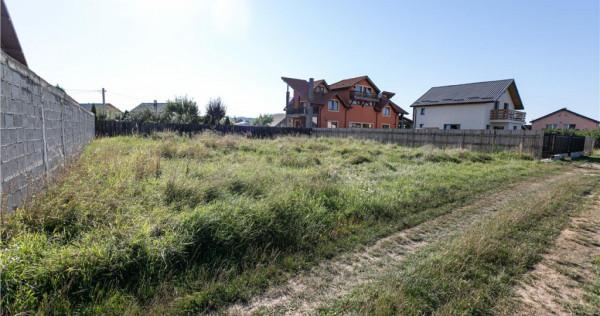 Investitie ideala pentru constructie casa, 600 mp intravilan