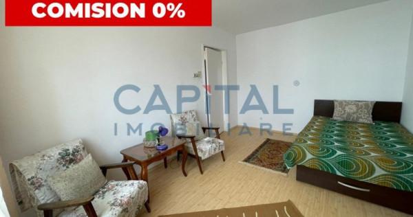 Garsoniera cu o camera in zona Manastur, Cluj, comision 0%