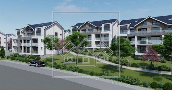 Ap.in vila, 2 camere logie de 7.42 mp - concept lux - Cris
