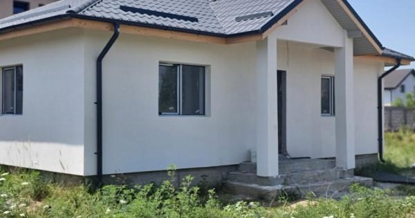 Casa individuala pe parter 3 camere/ teren 280mp Magurele