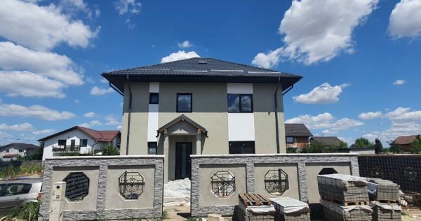 Vila exclusivista - 5 Camere - P+1E+M - Comuna Berceni 420mp