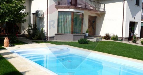 Casă / Vilă cu piscina, terasa acoperita DE INCHIRIAT -...