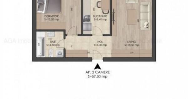 Apartament 2 camere - Direct Dezvoltator - 2 min M Berceni