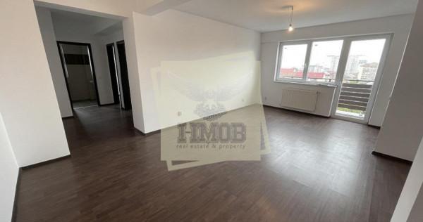 Apartament nou 3 camere la cheie cu balcon pe Mihai Viteazu