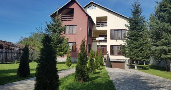 Vila P+E+M, cartier rezidential Muscel, teren 1300 mp !