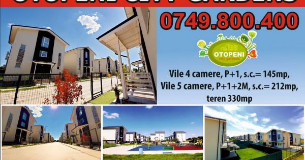 Vila 4 camere Otopeni City Gardens - ultimele 2 vile libere