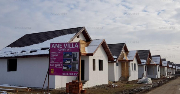 Vila individuala pe parter Ane Villa, 2 camere Domnesti, zon