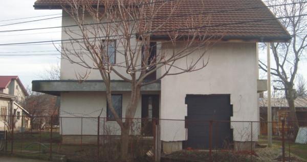 Vila; sau 2 apartamente S+P(155mp)E+M(220mp)Popesti Leordeni