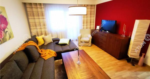 Apartament modern cu 3 camere 2 bai si balcon in zona Terezi