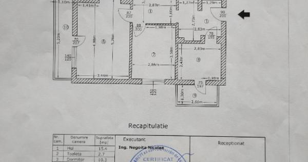 Apartament 4 camere, proprietar, str.Exercitiu,parter