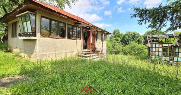 Casa cu 3 camere, in Telega, teren 1720 mp, deschidere 24m