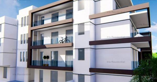 Apartament 2 camere 48.4 mp utili, gradina 54,7 mp, IRIS BUI