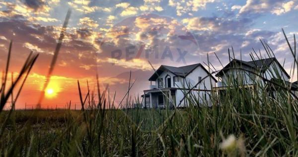 Vila in cartier american | 4 camere | teren 547 mp | Ostr...