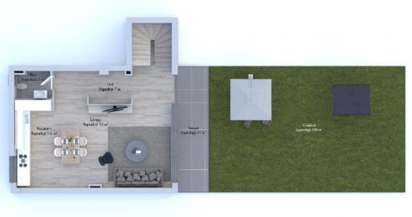 Apartament 4 cam tip Duplex P +E Corbeanca