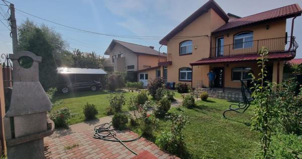 Casa single, mobilată/utilată,asfalt, toate utilitățile