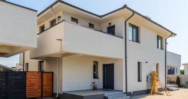 Tunari-Vila In Duplex cu Pereti Iindividuali, An 2020, 144mp