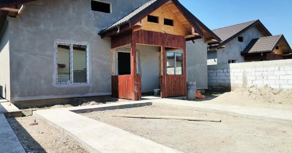 Casa P+p, Cernica/Posta, ansamblu rezidential, teren 500 mp