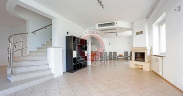 Vila cu 6 camere, lux, Complex Magnolia - Pipera, curte 280m