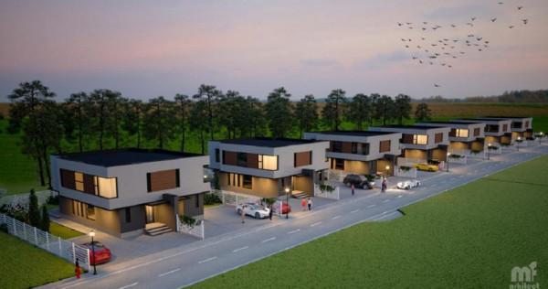Teren 300mp, Casa P+1 128 mp, front stradal 11.45m