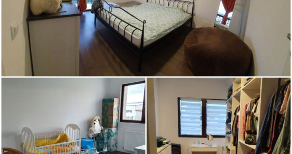 Casa tip duplex, mobilata, 4 camere