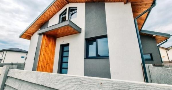 Casa pe un singur nivel - 260mp teren - 4 Camere