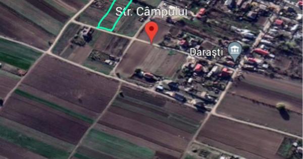 Teren intravilan Comuna Darasti-Ilfov 872mp