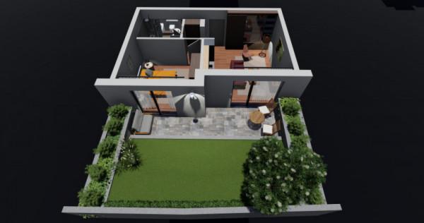 Unirii Fantani - str Justitiei 57 Apartament cu gradina