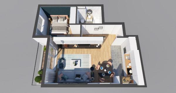 Apartament 2 camere decomandat in Top City Brasov