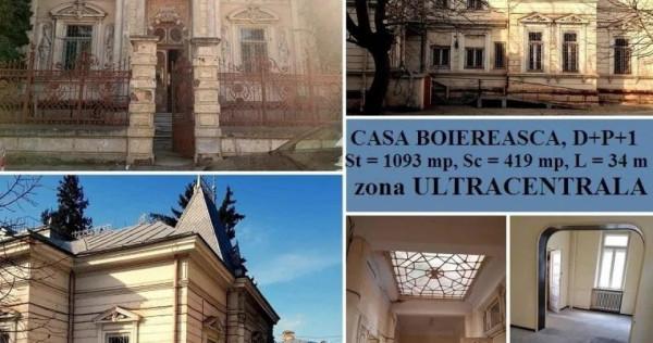 Casa Boieresca, D+P+1, OPORTUNITATE INVESTITIE ~ ID:4094