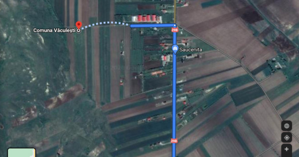 Teren extravilan sat Saucenita-Dorohoi, 36000 mp