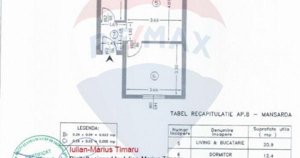 0% Comision apartament 2 camere de vanzare in zona Militari