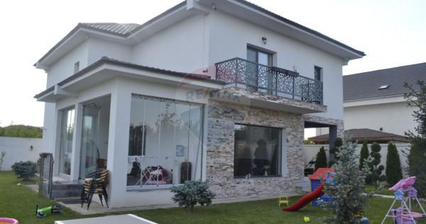 Vila 5 camere, 200 mp. utili, 500 mp. teren, Corbeanca
