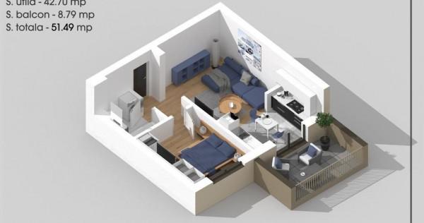 Apartament 2 camere tip Studio-Titan-1 Decembrie-Parcul T...
