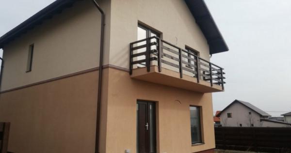 Vila individuala FINALIZATA, 4 Camere cu terasa spatioasa