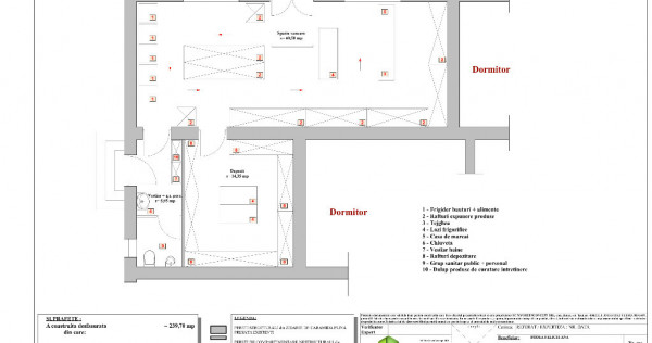 Spatiu comercial Gara de inchiriat cu dublu acces de intrare