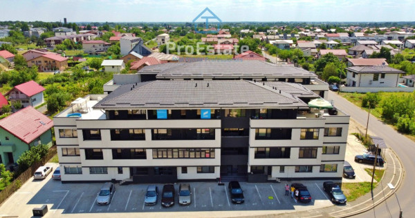 Park Residence, penthouse cu terasa de 69 mp finisat premium